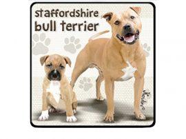Staffordshire Terrier hűtőmágnes
