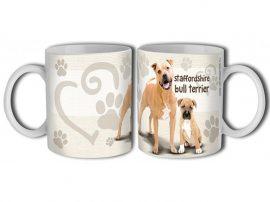 Staffordshire terrier bögre