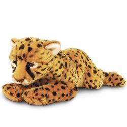 55 cm-es leopárd plüssfigura