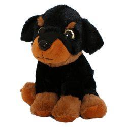 Plüss Rottweiler kutyus