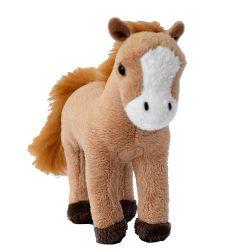 Plüss barna ló