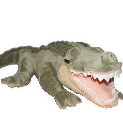Plüss aligátor / krokodil