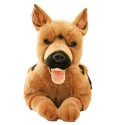 plüss németjuhász kutya