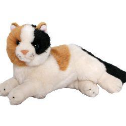 Plüss tarka cica