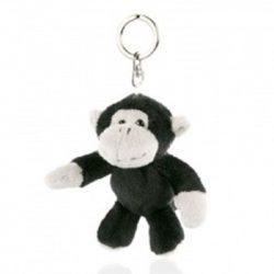 plüss majom kulcstartó