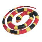 élethű gumi kígyó
