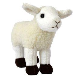 14 cm-es élethű plüss bárány