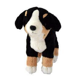 18 cm-es élethű plüss berni pásztor kutyus