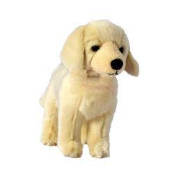 15 cm-es cuki plüss golden retriever kutyus