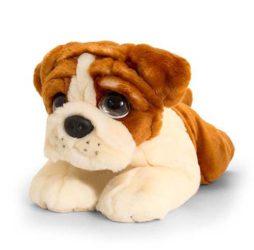 Plüss Bulldog kutya