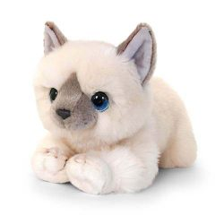 Csillogó szemű plüss cica