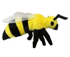 21 cm-es élethű plüss méhecske