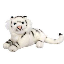 Plüss fehér szibériai tigris