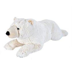 80 cm-es pihe-puha plüss jegesmedve ingyenes szállítással