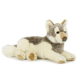 Prémium minőségű plüss farkas