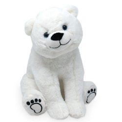 27 cm-es extra cuki tekintetű plüss jegesmedve