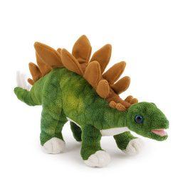 30 cm-es prémium minőségű plüss Stegoszaurusz dínó