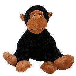 45 cm-es puha plüss csimpánz ingyenes szállítással