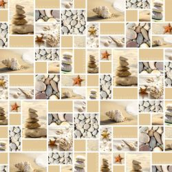 tengeri csillagos csomagolópapír