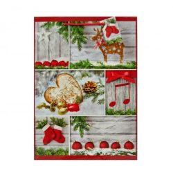 Karácsonyi ajándéktáska - nagy