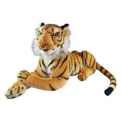 44 cm-es hasaló plüss tigris ingyenes szállítással