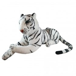 44 cm-es hasaló plüss szibériai tigris ingyenes szállítással