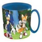 Sonic műanyag bögre