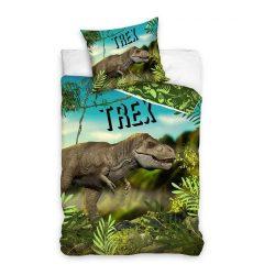 T-rex dínós pamut felnőtt ágyneműhuzat szett ingyenes szállítással
