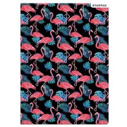 A4-es flamingós gumis mappa
