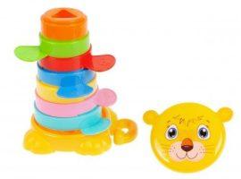 Cuki tigrises építő játék kisgyermekeknek