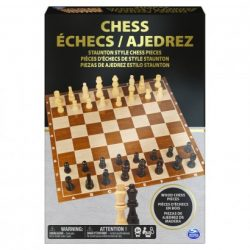 Prémium minőségű fa sakk-készlet