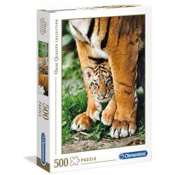 500 db-os Bengáli tigris kölyök puzzle