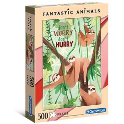 500 db-os lajhár puzzle