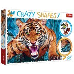 600 db-os különleges formájú Tigris puzzle