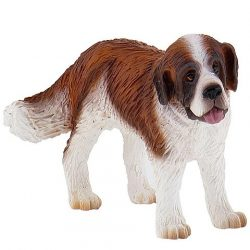 9 cm-es Bernáthegyi kutya játékfigura - Bullyland