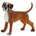 7 cm-es Boxer kutya játékfigura - Bullyland