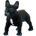3 cm-es pici Francia bulldog kutya játékfigura - Bullyland