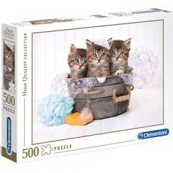 500 db-os cuki cicás puzzle