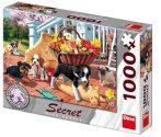 Kutyás puzzle 1000 db