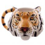 Tigris fej alakú bögre