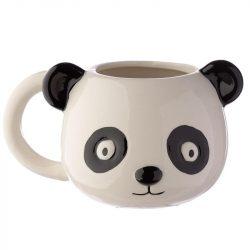 Panda fej alakú bögre
