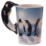 Pingvin kerámia bögre
