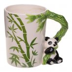 Panda kerámia bögre