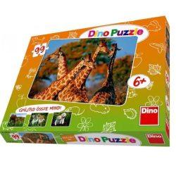 99 darabos Zsiráf puzzle