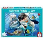 200 db-os víziállatok puzzle